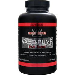 MUSCLE FORTRESS Vaso-Pump Hot Start 180 caps