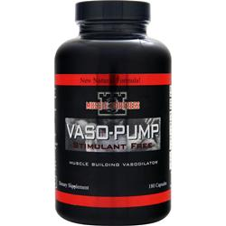 Muscle Fortress Vaso-Pump 180 caps