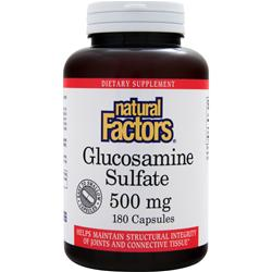 NATURAL FACTORS Glucosamine Sulfate (500mg) 180 caps