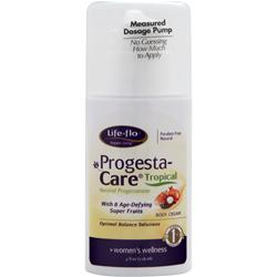 Life-Flo Progesta-Care Body Cream Tropical 4 fl.oz