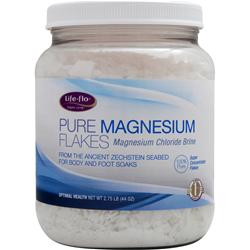 LIFE-FLO Pure Magnesium Flakes 2.75 lbs