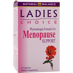NATURAL BALANCE Ladies Choice Menopause Support 72 caps