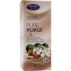 LIFE-FLO Pure Kukui Oil 4 fl.oz