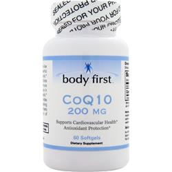 Body First CoQ10 (200mg) 60 sgels