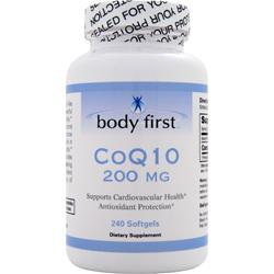 BODY FIRST CoQ10 (200mg) 240 sgels