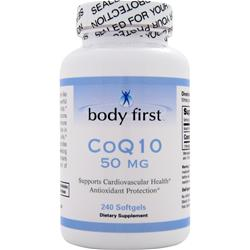 BODY FIRST CoQ10 (50mg) 240 sgels