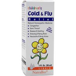 NATRABIO Children's Cold & Flu Relief 1 fl.oz