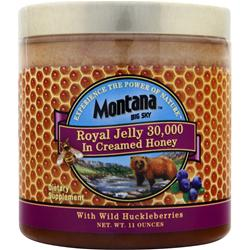 Montana Big Sky Royal Jelly 30,000 In Creamed Honey 11 oz