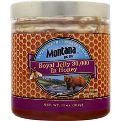 MONTANA BIG SKY Royal Jelly 30,000 In Honey 11 oz