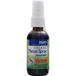 ZAND Organic Throat Spray - Herbal Mist 2 fl.oz