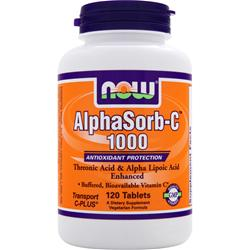 NOW AlphaSorb-C 1000 120 tabs