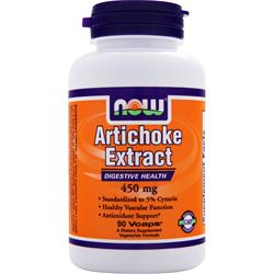 NOW Artichoke Extract (450mg) 90 vcaps