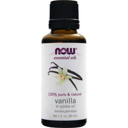 NOW Vanilla in Jojoba Oil 1 fl.oz