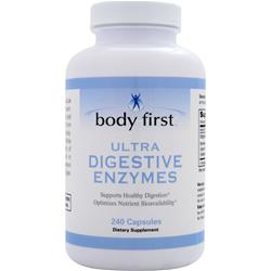 BODY FIRST Ultra Digestive Enzymes 240 caps