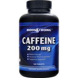 BodyStrong Caffeine (200mg) 180 tabs