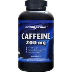 BodyStrong Caffeine (200mg) 360 tabs