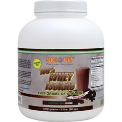 SCI-FIT 100% Whey Isolate Chocolate Mint 5 lbs