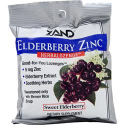 ZAND Herbalozenge Elderberry Zinc 15 lzngs