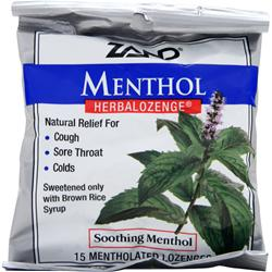 Zand Herbalozenge Menthol 15 lzngs