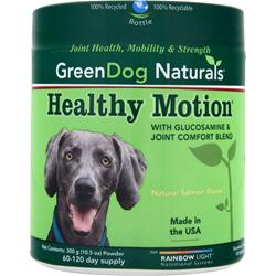 Green Dog Naturals Healthy Motion Powder Natural Salmon Flavor 300 grams