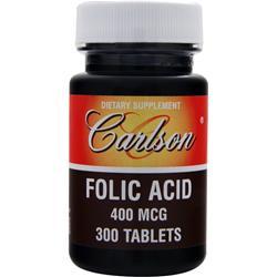CARLSON Folic Acid (400mcg) 300 tabs