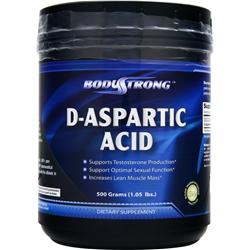 BodyStrong D-Aspartic Acid 500 grams