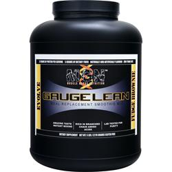 MGN Gauge Lean Meal Replacement Smoothie Mix Fudge Brownie 5 lbs