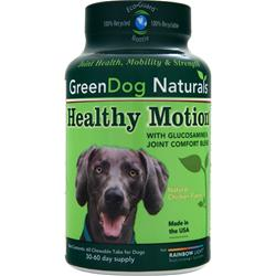 GREEN DOG NATURALS Healthy Motion Natural Chicken Flavor 60 chews