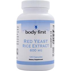 BODY FIRST Red Yeast Rice (600mg) 120 caps