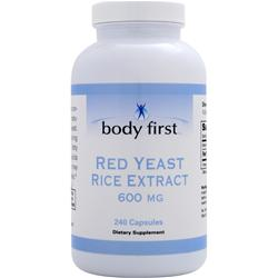 Body First Red Yeast Rice (600mg) 240 caps