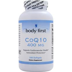BODY FIRST CoQ10 (400mg) 240 sgels