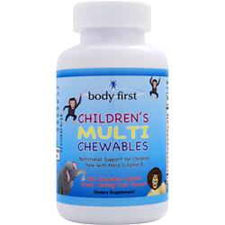 Body First Children's Multi Chewables 240 chews