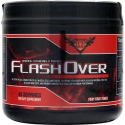 Omega Sports FlashOver Fiery Fruit Punch 252 grams
