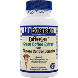 Life Extension CoffeeGenic - Green Coffee Extract with Glucose Control Complex 90 vcaps