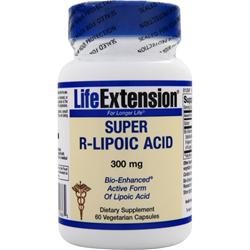 LIFE EXTENSION Super R-Lipoic Acid 60 vcaps