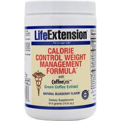LIFE EXTENSION Calorie Control Weight Management Formula Natural Blueberry 14.6 oz