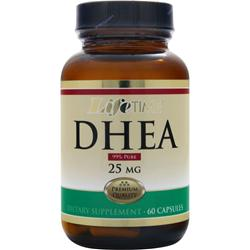 LIFETIME DHEA (25mg) 60 caps