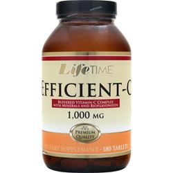 LIFETIME Efficient-C (1,000mg) 180 tabs