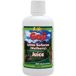 Lifetime Goji Lycium Barbarum (Wolfberry) Juice 32 fl.oz