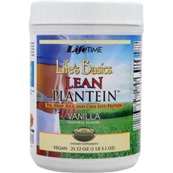 LIFETIME Life's Basics - Lean Plantein Vanilla 21.12 oz