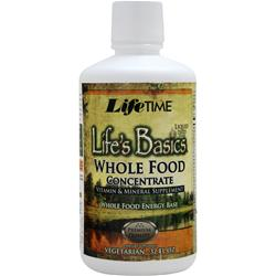 Lifetime Life's Basics - Whole Food Concentrate Pineapple Coconut 32 fl.oz