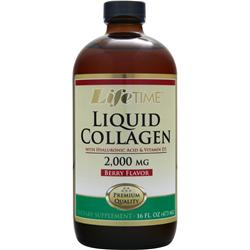 LIFETIME Liquid Collagen with Hyaluronic Acid & Vitamin D3 Berry 16 fl.oz