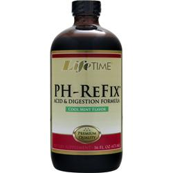 LIFETIME PH-ReFix Acid & Digestion Formula Cool mint 16 fl.oz