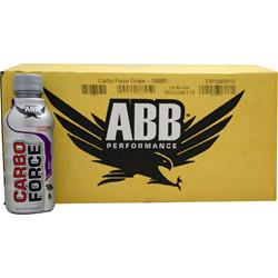 AMERICAN BODYBUILDING Carbo Force RTD Grape 24 bttls