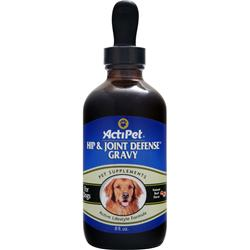 ACTIPET Hip & Joint Defense Gravy Natural Beef Flavor 8 fl.oz