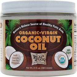 Funfresh Foods The Real Food Trading Company - Organic Virgin Coconut Oil 14 fl.oz