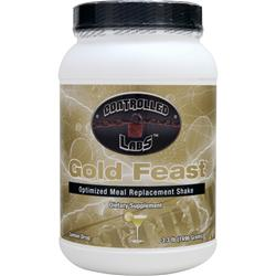CONTROLLED LABS Gold Feast - Optimized Meal Replacement Shake Lemon Drop 3.3 lbs