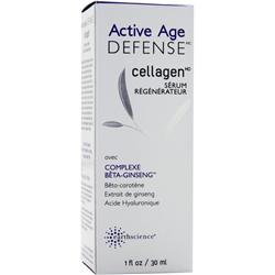 EARTH SCIENCE Active Age Defense Cellagen  Renewal Serum 1 fl.oz