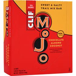 CLIF BAR Mojo Bar Chocolate Almond Coconut 12 bars