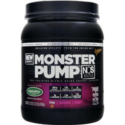 CYTOSPORT Monster Pump NOS Sour Apple 21.2 oz